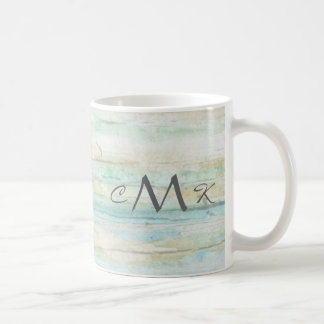 Driftwood Ocean Beach House Coastal Seashore Coffee Mug