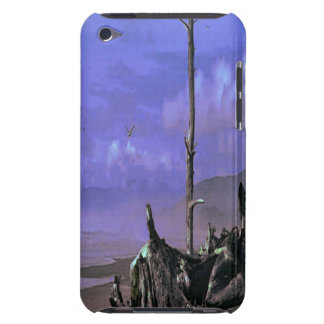 Driftwood on Beach iPod Touch Cover