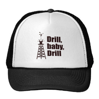 Drill Baby Drill Mesh Hat