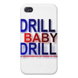 drill baby drill iPhone 4 cover
