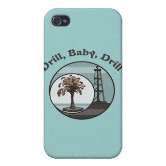 Drill Baby Drill iPhone 4/4S Covers