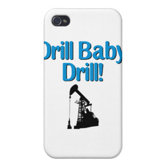 Drill Baby Drill Covers For iPhone 4