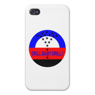 DRILL BABY DRILL iPhone 4/4S CASE