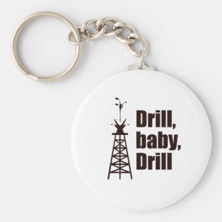 Drill Baby Drill Key Chain