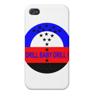 DRILL BABY DRILL- spec case Case For iPhone 4