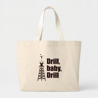Drill Baby Drill Tote Bag