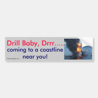 Drill Baby Drrr Bumper Sticker