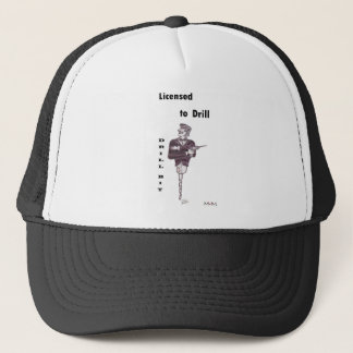 Drill Bit - Licensed to Drill Trucker Hat