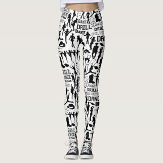 Drill Dance Team Sparkle Leggings