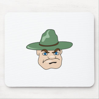 DRILL INSTRUCTOR MOUSE PAD