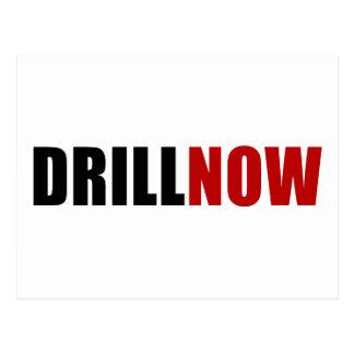 Drill NOW Postcard