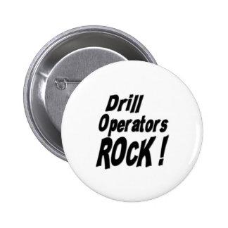 Drill Operators Rock! Button
