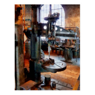 Drill Press Near Window Postcard