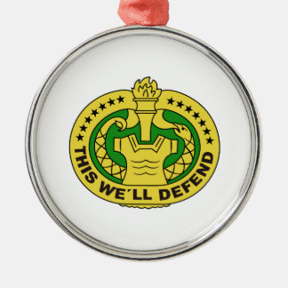 DRILL SERGEANT FILLED CHRISTMAS ORNAMENT