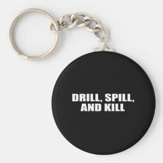 DRILL SPILL AND KILL KEY CHAIN