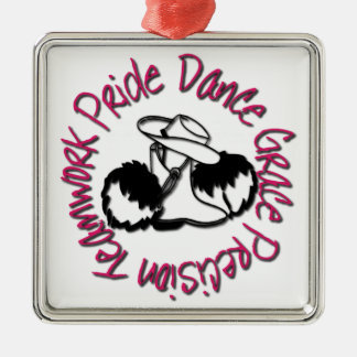Drill Team - Dance Grace Precision Teamwork Pride Christmas Ornament
