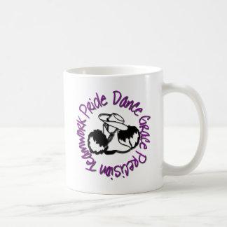 Drill Team - Dance Grace Precision Teamwork Pride Basic White Mug