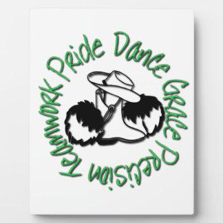 Drill Team - Dance Grace Precision Teamwork Pride Display Plaque