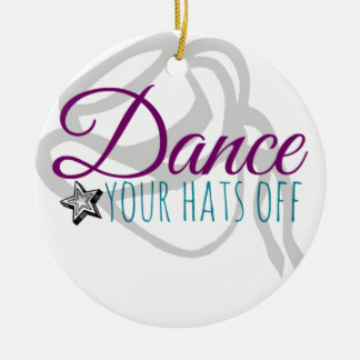 Drill Team Dance Your Hats Off Christmas Tree Ornaments