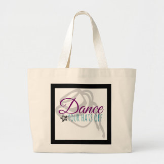 Drill Team Dance Your Hats Off Jumbo Tote Bag