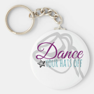 Drill Team Dance Your Hats Off Keychain