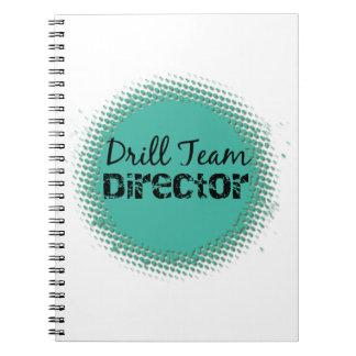 Drill Team Director Bubbles Note Book