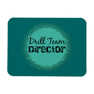Drill Team Director Vinyl Magnets