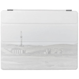 Drilling Rig and Oil Pumping Units iPad Cover