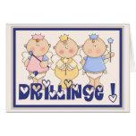 Drillings Engel Greeting Card