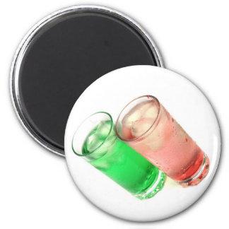 drink 6 cm round magnet