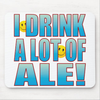 Drink Ale Life B Mouse Pad