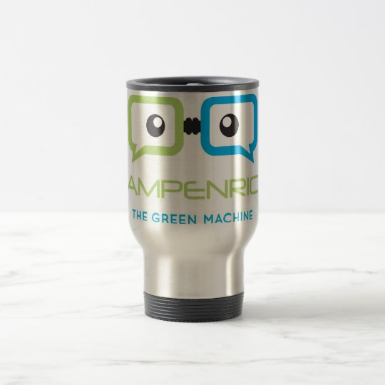Drink and dream. Be enriched! Travel Mug