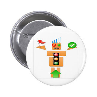 Drink and Drive Internet Traffice 6 Cm Round Badge