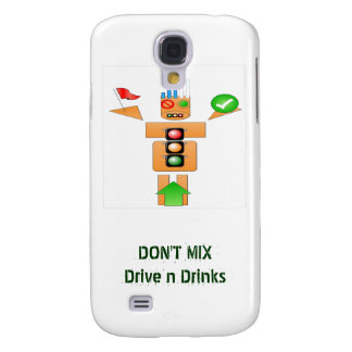 Drink and Drive Internet Traffice Samsung Galaxy S4 Covers