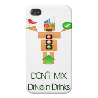 Drink and Drive Internet Traffice iPhone 4/4S Case