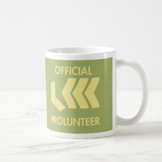 Drink and plan prolunteer coffee mug