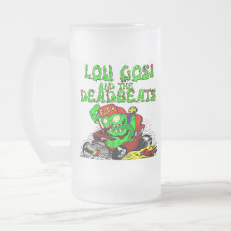 Drink! (art by low@northside tattooz) frosted glass mug