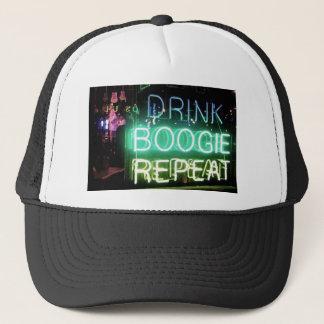 Drink, Boogie, Repeat! Trucker Hat