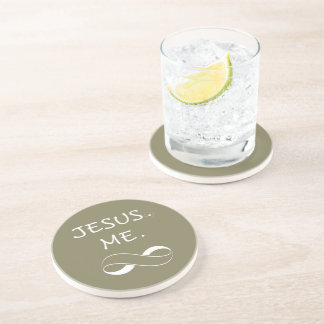 Drink Coasters Christian Jesus Me Infinity