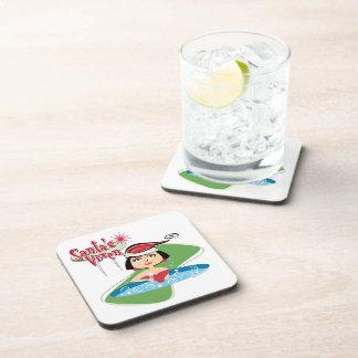 Drink Coaters Santa's Vixen Beverage Coaster