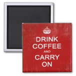 Drink Coffee and Carry On, Keep Calm Parody