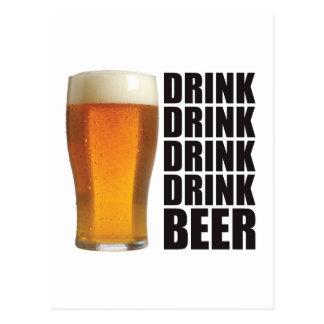 Drink Drink Postcard