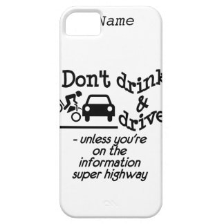 Drink & Drive custom iPhone 5 Case-Mate