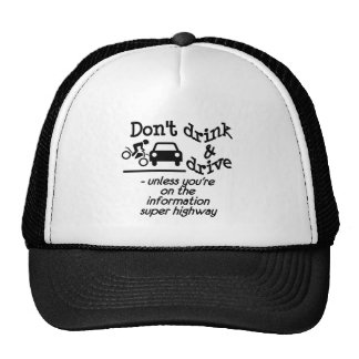 Drink & Drive hat
