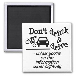 Drink & Drive magnet