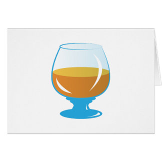 Drink Glass Greeting Card