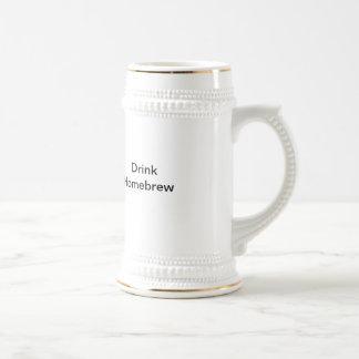 Drink Home Brew Beer Steins