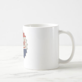 Drink Ice Cold Cola Bottle Cap Basic White Mug