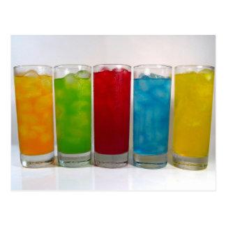 Drink In Color Postcard