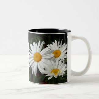 """""""Drink in the sights today"""" floral mug"""